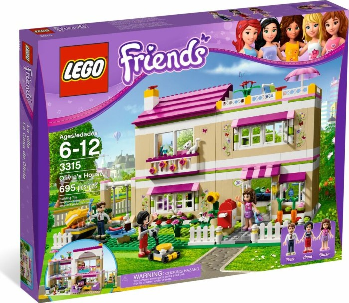 LEGO - Friends - Olivia's House (3315) -- via Amazon Partnerprogramm