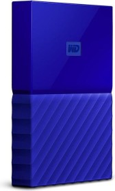 Western Digital WD My Passport Portable Storage blau 2TB, USB 3.0 Micro-B (WDBYFT0020BBL-WESN)