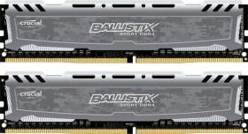 Crucial Ballistix Sport LT grau DIMM Kit 16GB, DDR4-2666, CL16-18-18 (BLS2K8G4D26BFSB / BLS2C8G4D26BFSB)