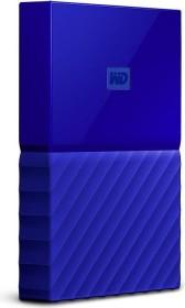 Western Digital WD My Passport Portable Storage blau 1TB, USB 3.0 Micro-B (WDBYNN0010BBL-WESN)