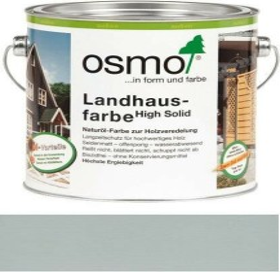 Osmo Landhausfarbe 2735 outdoor wood preservative light grey, 2.5l