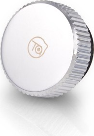 """Bitspower Touchaqua Verschlussstopfen 1/4"""", Glorious Silver, 2er-Pack (BPTA-F06-GS)"""