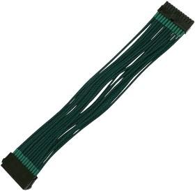 Nanoxia 24-Pin ATX Verlängerung 30cm, sleeved grün (NX24V3EG)