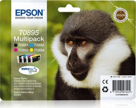 Epson Tinte T0895 4-color Multipack (C13T08954010)