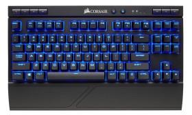Corsair Gaming K63 Wireless, LEDs blau, MX RED, USB/Bluetooth, DE (CH-9145030-DE)