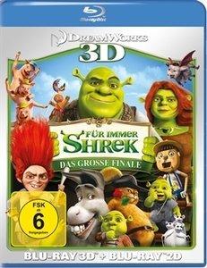 Shrek 4 - Für immer Shrek (3D) (Blu-ray)
