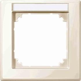 Merten System M M-SMART Rahmen 1fach Thermoplast brillant, weiß (470144)