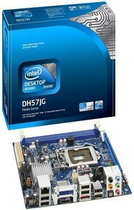 Intel media Series DH57JG, H57 (Socket 1156, dual PC3-10667U DDR3) (BOXDH57JG)