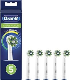 Oral-B Aufsteckbürsten CrossAction CleanMaximiser weiß, 5er-Pack