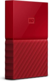 Western Digital WD My Passport Portable Storage rot 3TB, USB 3.0 Micro-B (WDBYFT0030BRD-WESN)