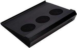 SilverStone NB01-B Notebook-Kühler, schwarz (SST-NB01B)