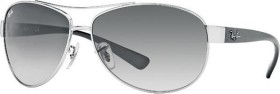 Ray-Ban RB3386 63mm silver-black/grey gradient (RB3386-003/8G)