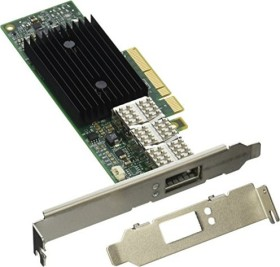 Mellanox ConnectX-3 VPI, QSFP+/InfiniBand, PCIe 3.0 x8 (MCX353A-FCBT)