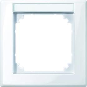 Merten System M M-SMART Rahmen 1fach Thermoplast brillant, aktivweiß (470125)