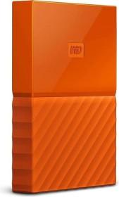Western Digital WD My Passport Portable Storage orange 1TB, USB 3.0 Micro-B (WDBYNN0010BOR-WESN)
