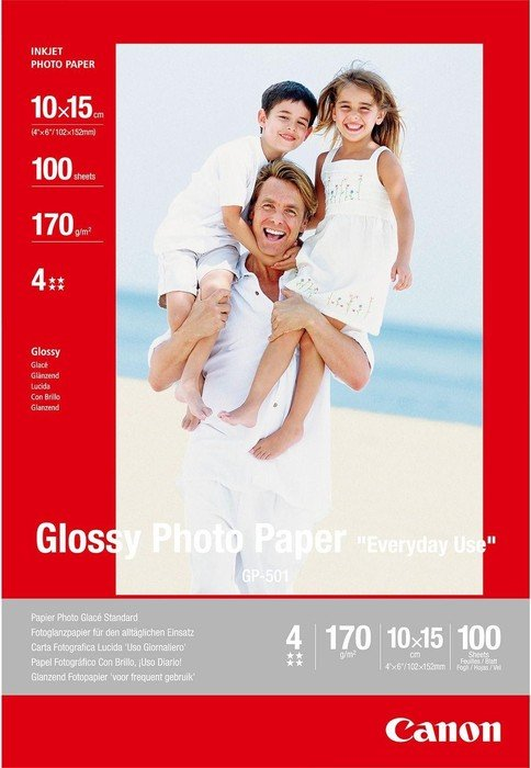 Canon GP-501 Fotopapier 10x15cm, 100 Blatt (0775B003)