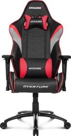 AKRacing Overture gaming chair, black/red (AK-OVERTURE-RD)