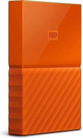 Western Digital WD My Passport Portable Storage orange 4TB, USB 3.0 Micro-B (WDBYFT0040BOR-WESN)