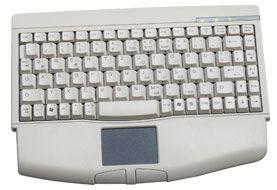 KeySonic ACK-540 mini keyboard, PS/2, DE