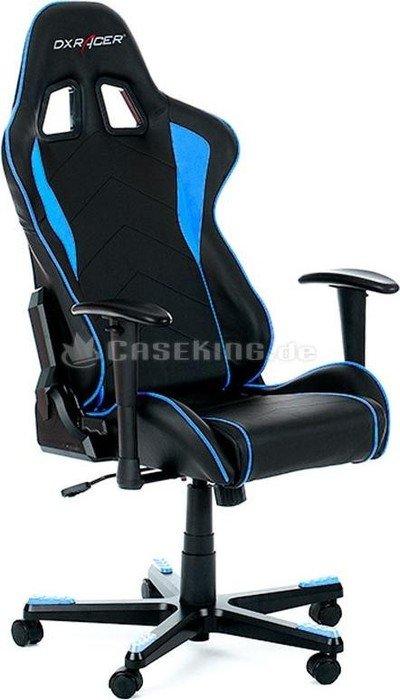 Dxracer Formula Series Gamingstuhl Schwarz Blau Oh Fe08 Nb Ab