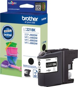 Brother Tinte LC221BK schwarz