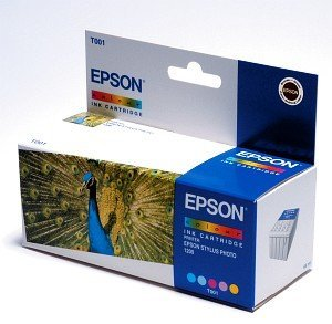 Epson T001 ink coloured (C13T00101110)