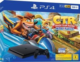 Sony PlayStation 4 Slim - 500GB Crash Team Racing: Nitro-Fueled Bundle schwarz (9934202)
