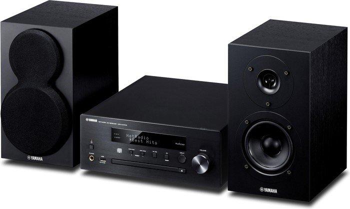 Yamaha MCR-N470D czarny/czarny