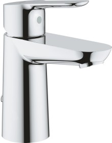 """Grohe BauEdge one-hand-bathroom sink tap 1/2"""" S-Size with drain remote chrome (23329000)"""