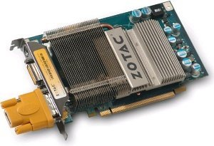 Zotac GeForce 8600 GT Zone, 256MB DDR3, 2x DVI, TV-out, PCIe (ZT-86TEQ2P-PSL)