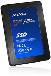 "ADATA S511 480GB, 2.5"", SATA 6Gb/s (AS511S3-480GM-C)"