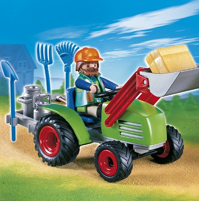 playmobil Country - Multifunktionstraktor (4143) -- via Amazon Partnerprogramm