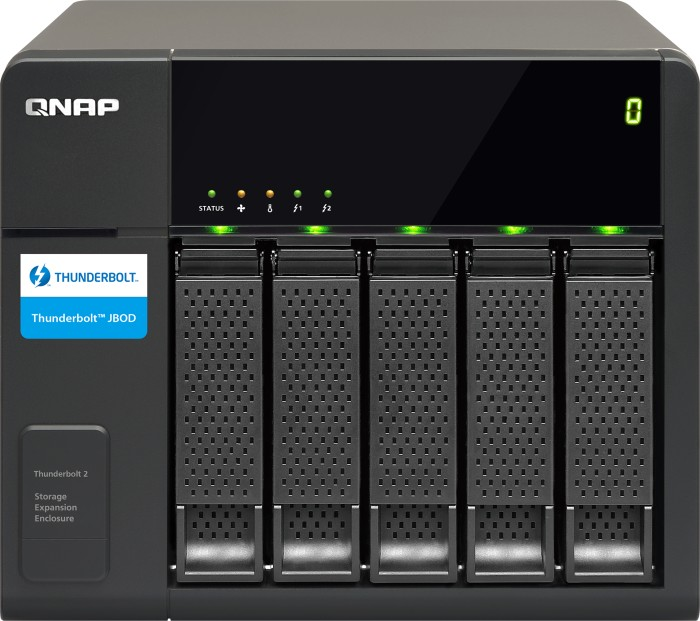 QNAP TX-500P, Thunderbolt 2