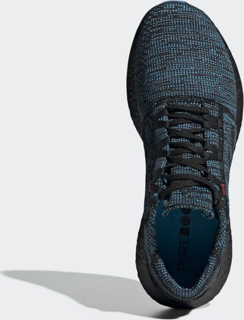 ee02ffe765cbc adidas Pure Boost Go LTD blue core black shock cyan (men) (D97425) starting  from £ 0.00 (2019)
