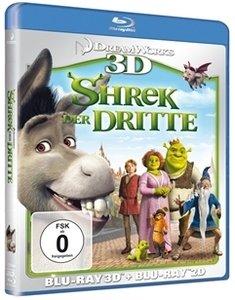 Shrek 3 - Der Dritte (3D) (Blu-ray)