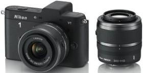 Nikon 1 V1 schwarz mit Objektiv VR 10-30mm 3.5-5.6 und VR 30-110mm 3.8-5.6 (VVA101K003)