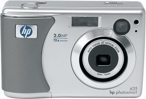 HP Photosmart 635 digital camera with Photosmart 145 Photo Printers (Y1445A)