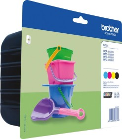 Brother Tinte LC221VAL Rainbow Kit