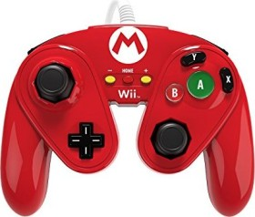PDP Wired Fight Pad Mario Design (WiiU)