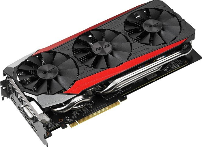 ASUS Strix Radeon R9 390, STRIX-R9390-DC3OC-8GD5-GAMING, 8GB GDDR5, DVI, HDMI, 3x DisplayPort (90YV08F0-M0NA00)