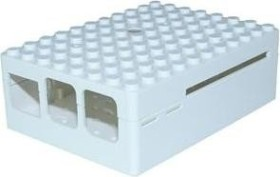 Multicomp Pi-Blox Raspberry Pi Gehäuse für Pi 2/3/B+, weiß (CBPIBLOX-WHT)