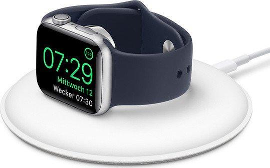 Apple Watch magnetisches Ladedock weiß (MU9F2ZM/A)