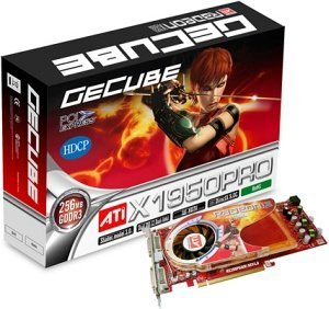 GeCube Radeon X1950 Pro,  512MB DDR3, 2x DVI, TV-out, PCIe (GC-HV195PG3-E3)