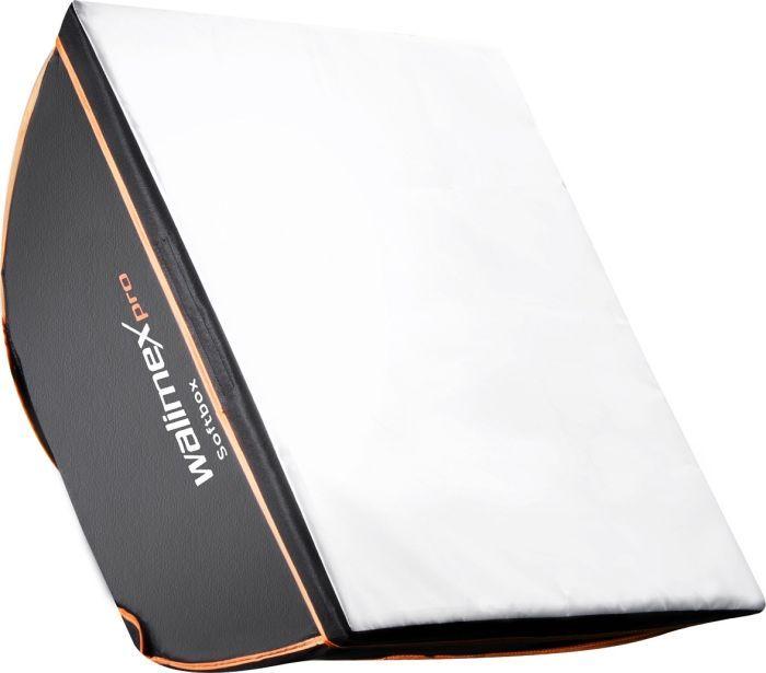 Walimex Pro Softbox Orange Line 40x40cm für Aurora/Bowens (18923)