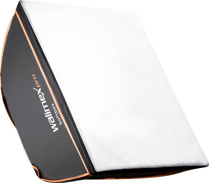 Walimex Pro Softbox Orange Line 40x40cm für Multiblitz V (18924)