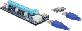 DeLOCK Riser Card PCI Express x1 > x16 with 60cm USB cable (41426)
