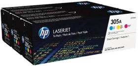 HP Toner 305A colour pack (CF370AM)
