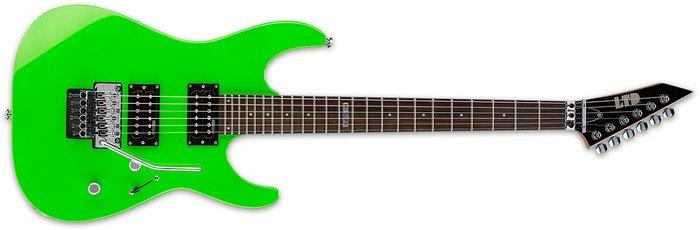 ESP LTD M-50FR Neon Green