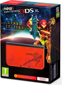 Nintendo New 3DS XL Samus Edition rot/gelb