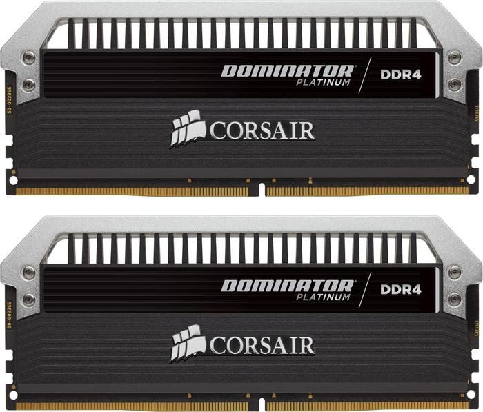 Corsair Dominator Platinum DIMM kit 32GB, DDR4-3200, CL16-18-18-36 (CMD32GX4M2C3200C16)